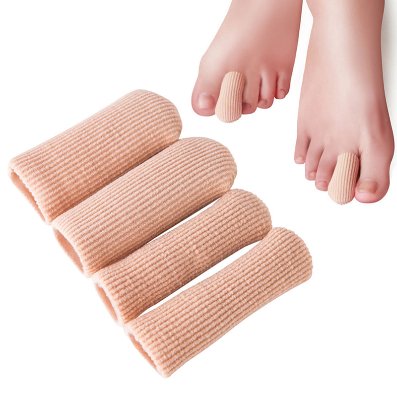 3 Size New Durable Gel Cap Finger Toe Blister Callouses Relief Tube Protector Small Foot Care Health Toe Health To Insoles P0050