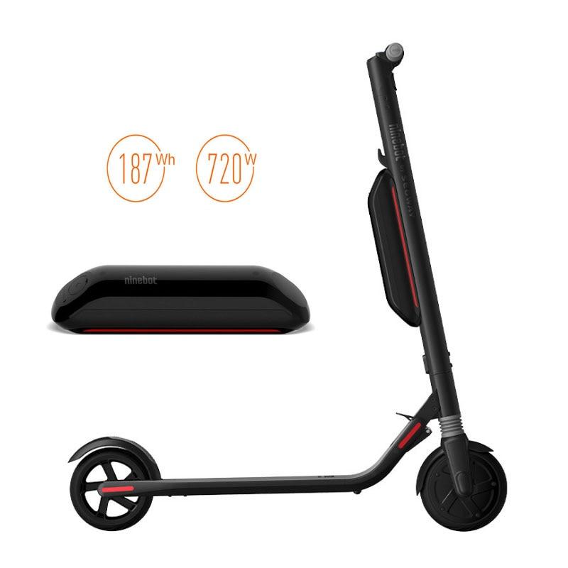 Mise à niveau externe Ninebot en option Ninebot batterie au Lithium pour xiaomi scooter ES1 ES2 ES4 Scooter électrique planche de vol stationnaire 187WH