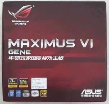 Asus MAXIMUS VI GENE Player Country M6G MATX Small Board new in box