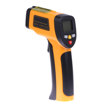 Buy Non contact Digital Laser Infrared Thermometer -50 to 450 Themperature Pyrometer IR Laser Point Gun