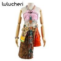 Final Fantasy XIII FF13 Oerba Dia Vanille Cosplay Costume Woman Bohemia Amidala Skin Suit Halloween Party Dresses Custom Made