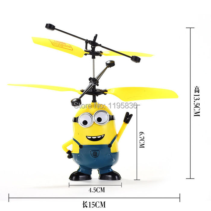 Upgrades Package Remote Control Rc Helicopter Flying Despicable Me