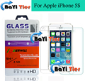 100% Original Tempered Glass For Apple iPhone 5S Tempered Glass Mobile Phone Case screen protector For Apple iPhone 5S