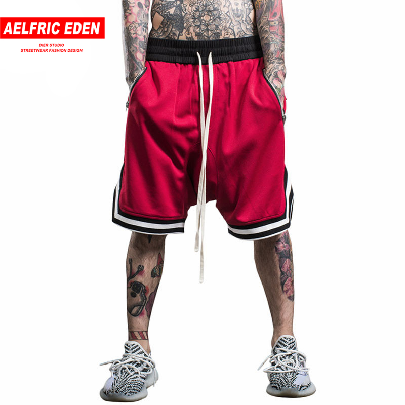 Aelfric Eden HOT Bermuda Loose Men Casual Shorts Multi Color Fitness Shorts Man Top Quality Skateboard Shorts Zipper Boardshorts