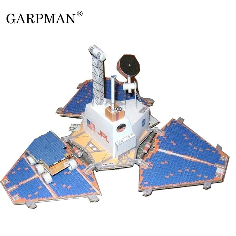 Mars Pathfinder + Martian Rover 3D Paper Model DIY ...