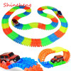 Shineheng Magic Tracks Bend Flex Glow In The Dark Assembly Toy 165 220pcs Race Track 1pc