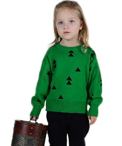 New-Arrival-Spring-Autumn-Kids-Sweater-Triangle-Christmas-Tree-Print-Pullover-Knitted-Girl-Sweaters-Cotton-Toddler