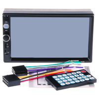 7 Inch Dual Din Car MP5 Player FM Radio Support Card Reading Function Bluetooth Hands Free