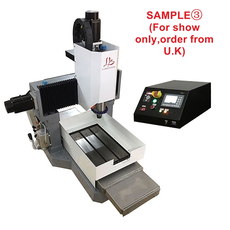 LY 3040 full cast iron 1.5KW 2.2KW 3.5KW CNC engraving machine step motor standard version 3 axis Z axis 170mm 220V (3)