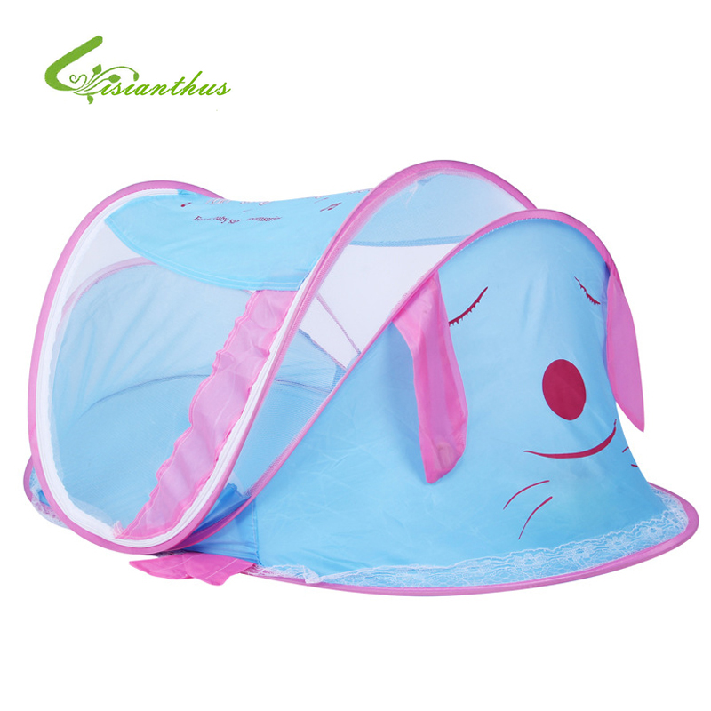 Blue/Pink Cute Baby Infant Bed Canopy Mosquito Net Tent Foldable Portable Sealed Mosquito Baby Mosquito Net Drop/Free Shipping  sc 1 st  AliExpress.com & Online Get Cheap Foldable Baby Bed Net -Aliexpress.com | Alibaba Group