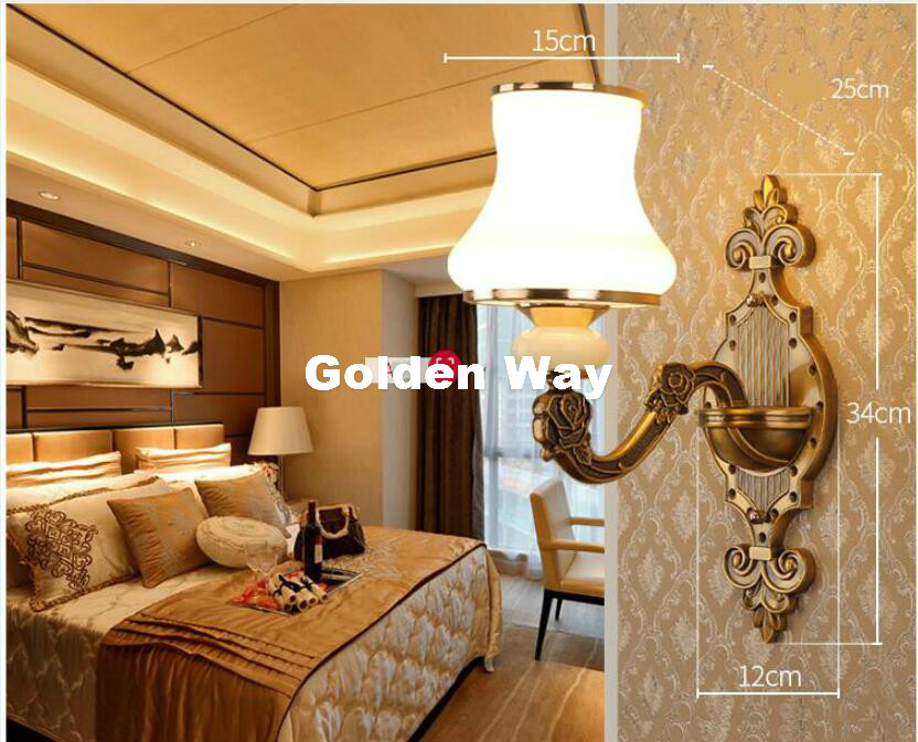 Free Shipping Modern Crystal Wall Light Brass Color Modern led Crystal Wall Lamp Bedroom Wall Sconce Lighting Bathroom Wall Lamp simple led wall lamp modern home lighting bedroom berth crystal wall light corridor crystal wall sconce contains led bulb