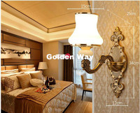 Free Shipping Modern Crystal Wall Light Brass Color Modern led Crystal Wall Lamp Bedroom Wall Sconce Lighting Bathroom Wall Lamp