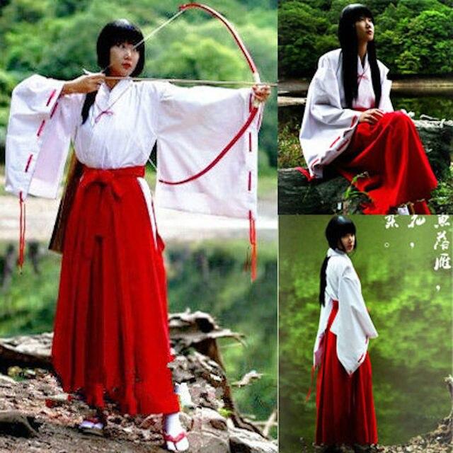 Tienda Online Unicornio lindo anime Inuyasha kikyo kimono Cosplay ...