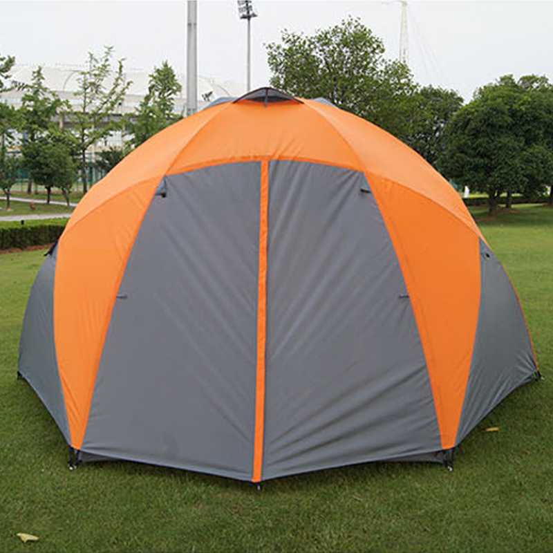 Tourist Tents Weatherproof Large C&ing Tent For Family Holiday 8 10 Person C&ing Tent Double Layer Yurt-in Tents from Sports u0026 Entertainment on ... & Tourist Tents Weatherproof Large Camping Tent For Family Holiday 8 ...