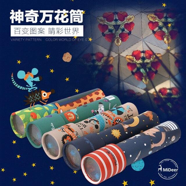 Children's scientific experiment toy kaleidoscope,Children's intelligence development education toys,Classic Toys
