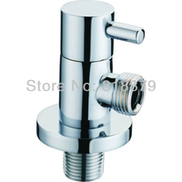 Brass Toilet Water Heater Angle Valve Kitchen Faucet Quick Open Triangle Valve