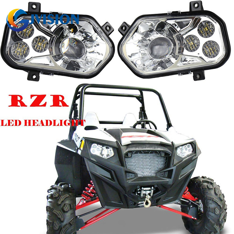 2012 2013 2014 Polaris XP900 RZR Razor 900 LEFT LED BUMPER HEADLIGHT brake pads set for polaris atv 900 ranger rzr xp efi 2012 2013 2014 2015 900 rzr xp4 900 2013 2014 2015