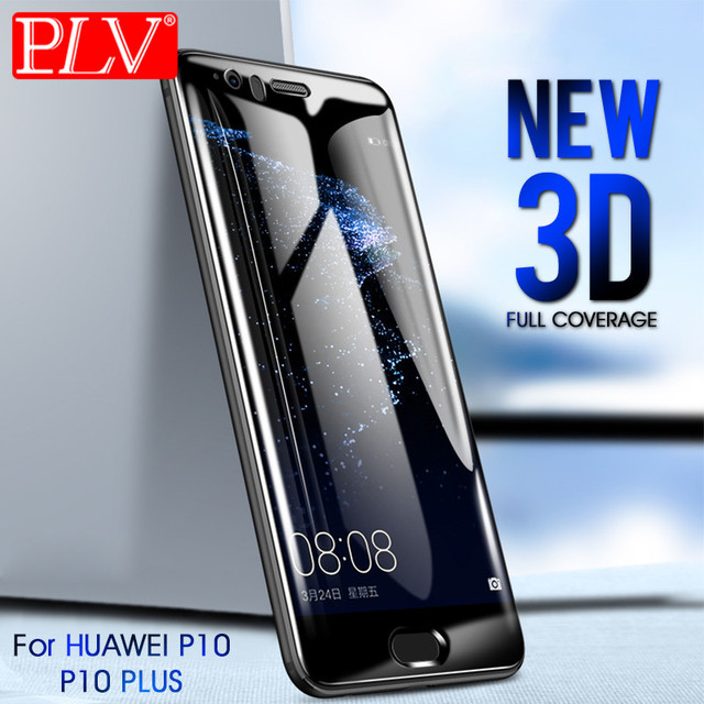 PLV 3D Full Cover Tempered Glass For huawei Mate 10 9 8...