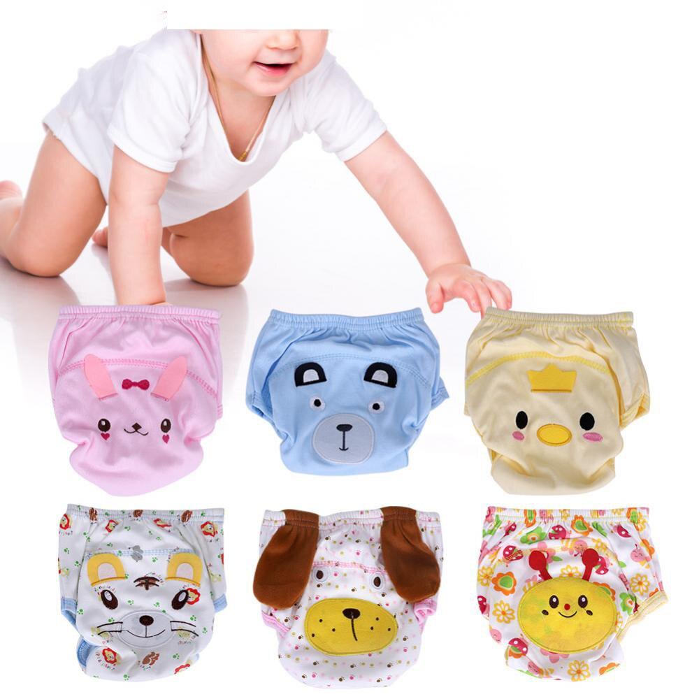 Babypflege Baby Ausbildung Hosen Baby Windel Mehrweg Windel Waschbar Baby Infant Windeln Baumwolle Lernen Hosen Windeln 3/4 Schichten Für 8-13 Kg
