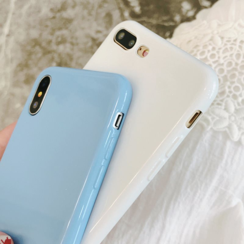 Silicone Glitter Powder TPU Soft Candy Color Cover Phone Cases For Xiaomi Redmi Note 6 6A 6X Pro 8 8SE A2 Lite Pocophone F1 Capa in Fitted Cases from Cellphones Telecommunications