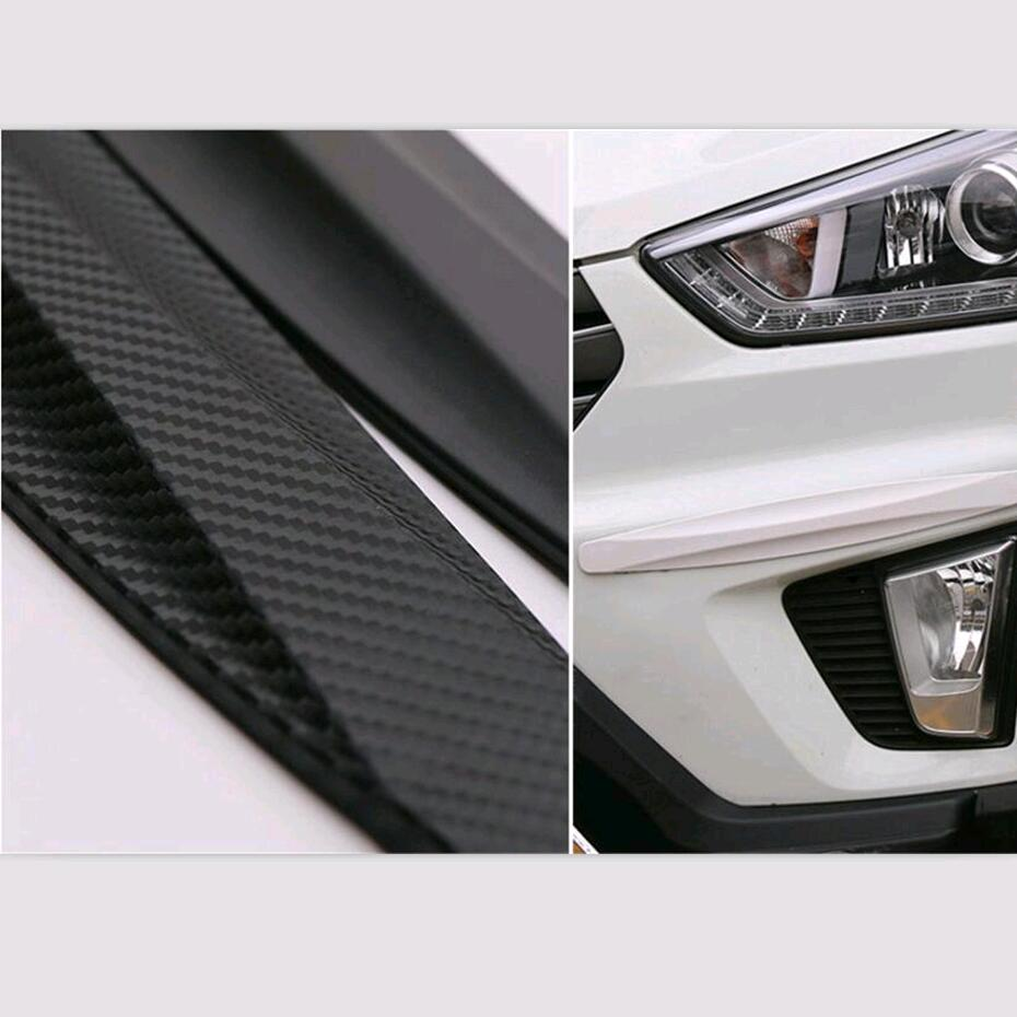 CAR Bumper Anti-collision Strip Sticker FOR Ford Focus 2 3 Hyundai solaris Mazda 2 3 6 CX-5 kia rio k2 soul kx3 kx5 Accessories adjustable led chips neon lamp car styling for ford focus 2 renault alfa romeo 159 147 156 166 mazda 3 6 2 cx 5 cx 7 accessories