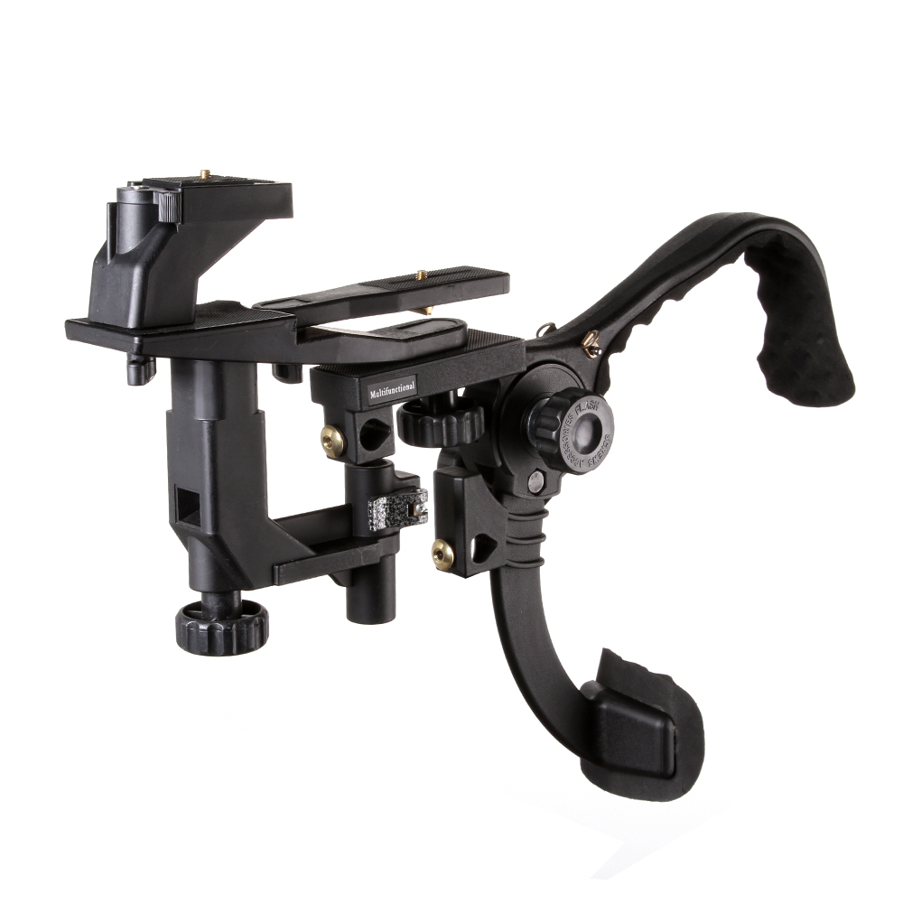 Fotga Hands Free Shoulder Support Mount Pad Video Stabilizer for Camcorder DV DSLR Camera Light coco cc vh02 c shape mount holder handle for dslr camcorder dv black