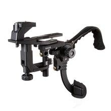 Fotga Mãos Livres Suporte de Ombro Montar Pad Estabilizador para Câmara de Vídeo DV DSLR Camera Luz