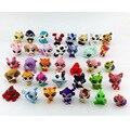 10pcs/set 3-4cm Small Original LPS Little Pet Shop Toys Littlest Cartoon Animal Loose Action Figures Collection Best Kids Gifts