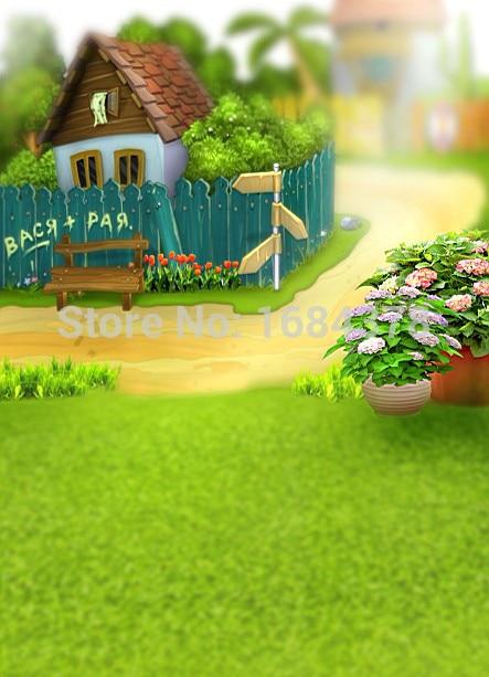 Garden Kids Background