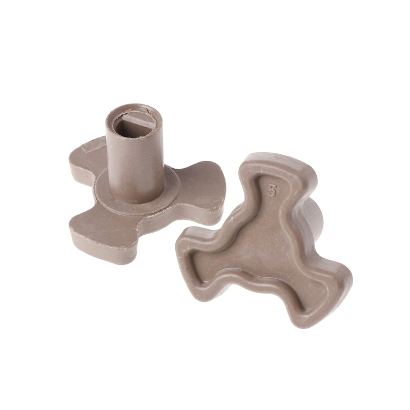 2Pcs 17mm Microwave Oven Turntable Roller Guide Support Coupler Tray Shaft2Pcs 17mm Microwave Oven Turntable Roller Guide Support Coupler Tray Shaft