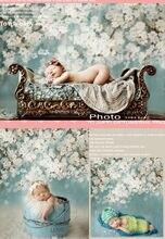 150 см * 200 см фоны новорожденных реквизит и фонов цветок фотографии фоном для маленьких фото студия S102