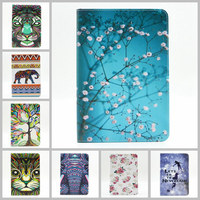 New Painted PU Leather Case With Card Slots For Apple IPad Mini 4 Case Folio Stand