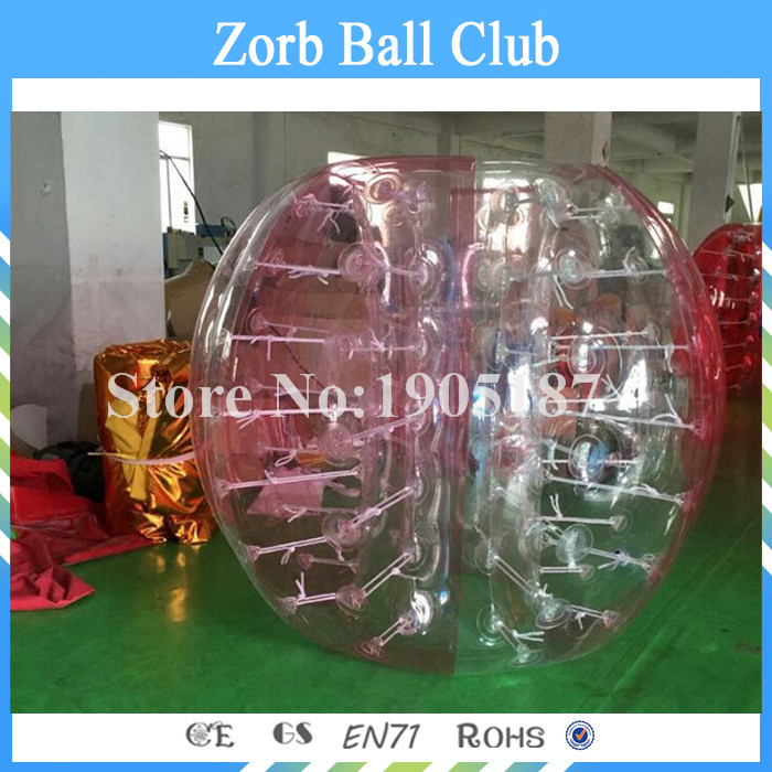Free Shipping 0.8mm PVC Air Bumper Ball Inflatable Body Grass Body Zorb Ball For Sale