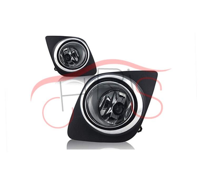 Clear Lens Fog Light Lamps With Wiring Kit For Toyota RAV 4 2009-2012