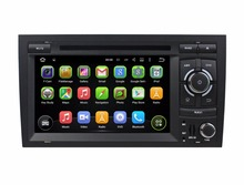 Quad Core HD 2 din 7″ Android 5.1 Car PC DVD Auto Stereo Player for Audi A4 2003-2011 With GPS 3G/WIFI Bluetooth IPOD Radio USB