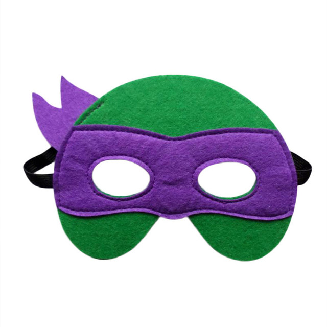4pcs Ninja Turtles Mask Kids Birthday Gift Cosplay Party Supplies Captain America Teenage Mutant Ninja Turtles The Avengers Mask  sc 1 st  Aliexpress : green ninja avenger costume  - Germanpascual.Com