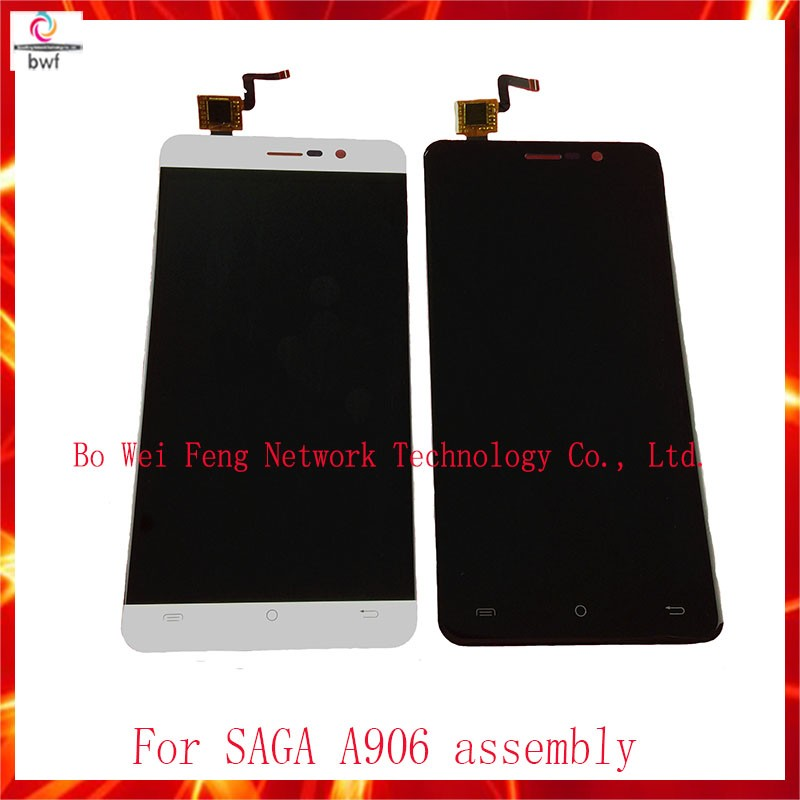 10Pcs/lot DHL EMS High Quality LCD screen display+ touch screen digitizer assembly For SAGA A906 Free Shipping 10pcs lot dhl ems high quality for sony