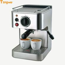 Free shipping Commercial steam cooking coffee pot for household full semi-automatic espresso machine Coffee machine