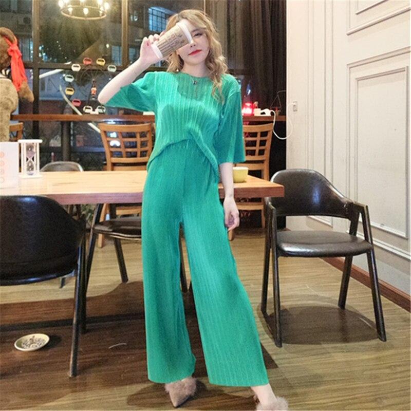 Ensemble Femme 2 Pieces Pantalon Set Woman 2 Pieces Pants 2 Pieces Set Of Womens Trouser ...