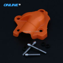 Buy New Plastic Water Pump Cover Protector Guard For KTM SXF EXCF XCF XCFW FREERIDE 250 350 Motocross Motorcycle Enduro Dirt Bike directly from merchant!