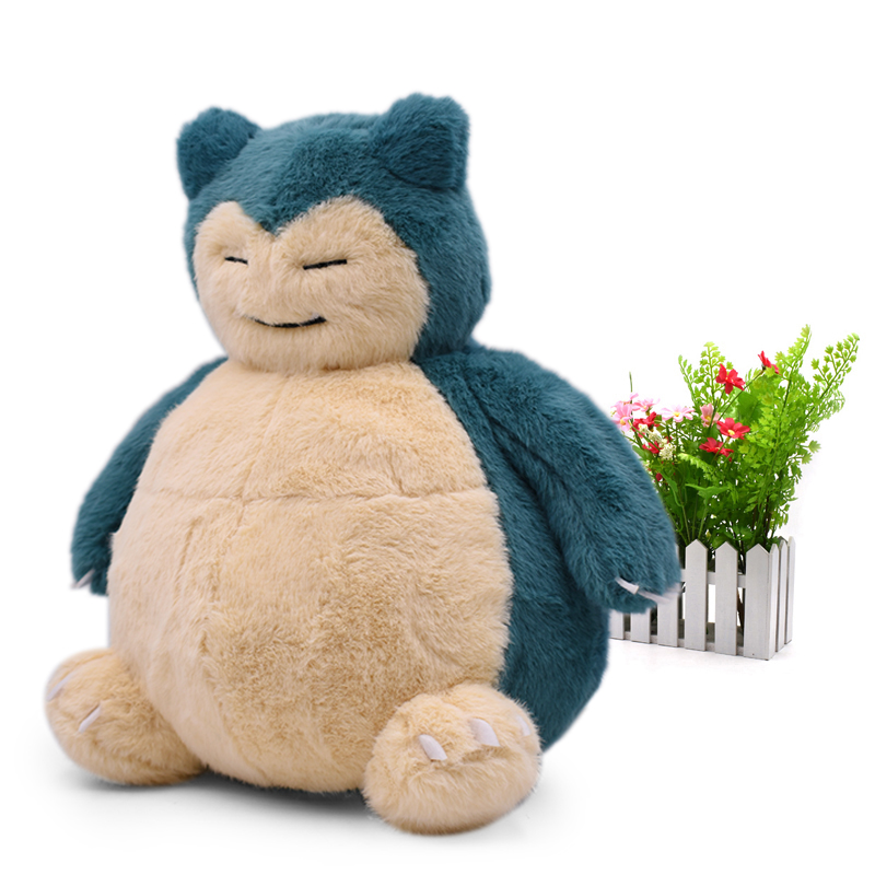 12 39 Anime Detective Pikachu Snorlax Plush Soft Toy Christmas Gift For Children in Stuffed amp Plush Animals from Toys amp Hobbies