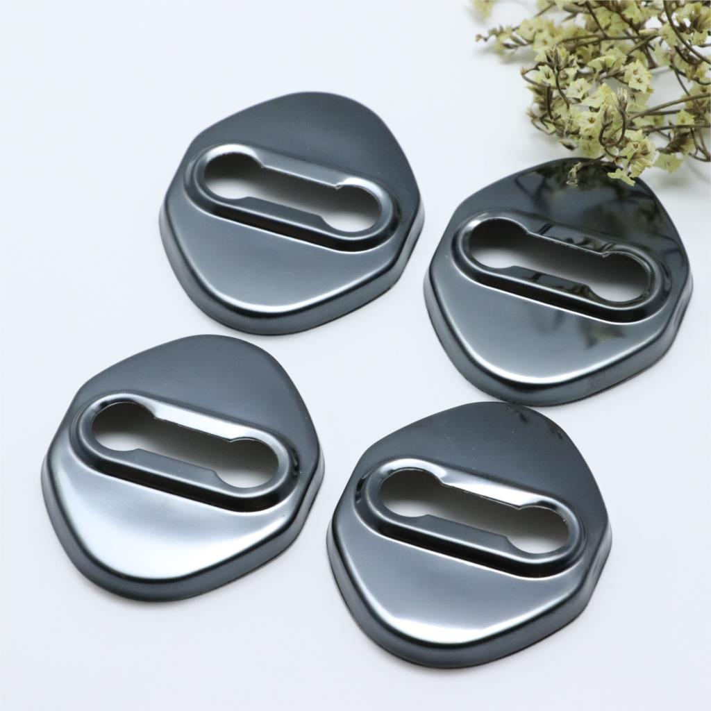 4pcs Anti Rust Car Door Lock Protective Buckle Cover For <font><b>Mazda</b></font> <font><b>MX</b></font>-<font><b>5</b></font> MX5 <font><b>MX</b></font> <font><b>5</b></font> NB NC <font><b>ND</b></font> Car Styling <font><b>Accessories</b></font> image