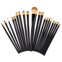 High quality 20 pcs Makeup Brush Set tools Make-up Toiletry Kit Wool Make Up Brush Set Oct20