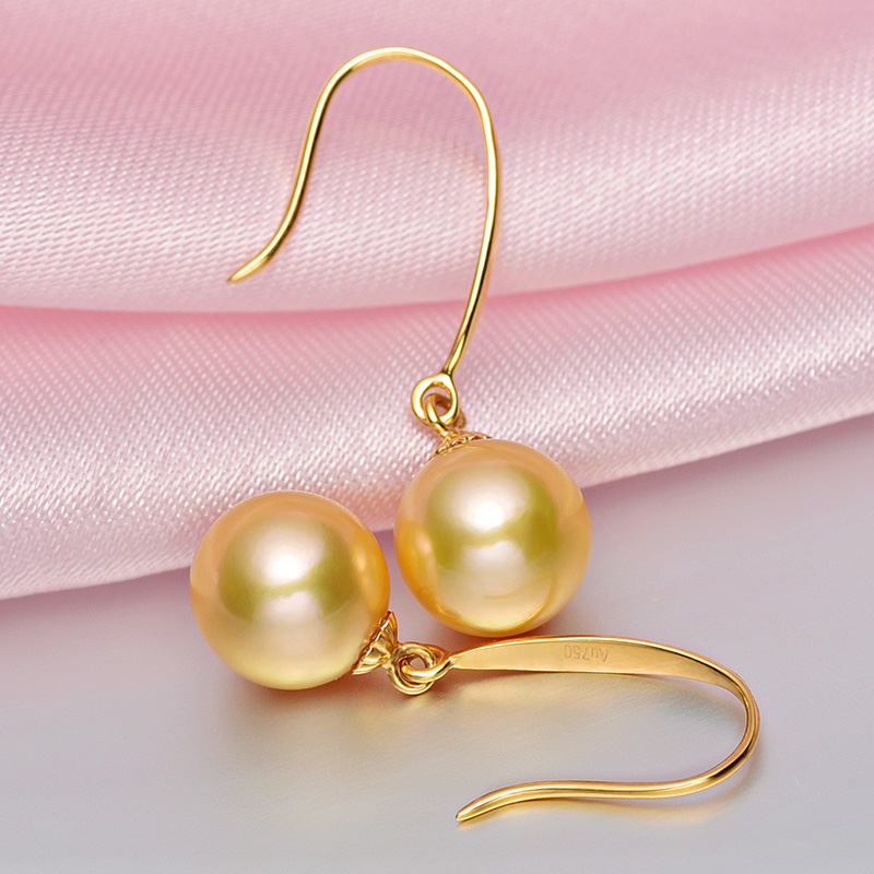 [YS] Hot Sale Classic Style Earring 7.5-8mm Japanese Akoya Pearl Drop - Fine Jewelry - Photo 2