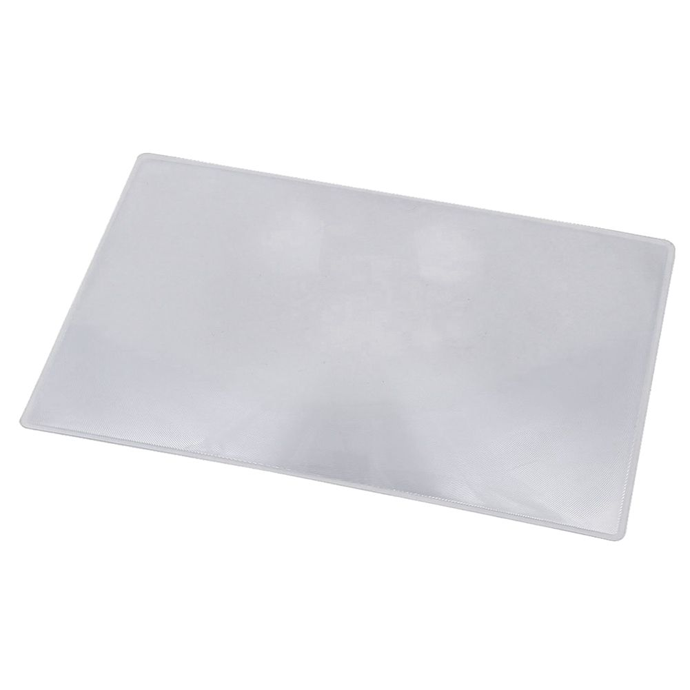 Magnifier Fresnel Lens Page 3x Magnifying Sheet 180x120x0.5mm