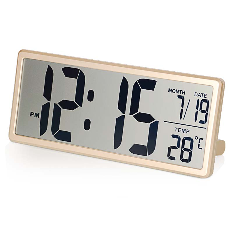 Extra Large Digital Wall Clock Modern Design Electronic Alarm Clock