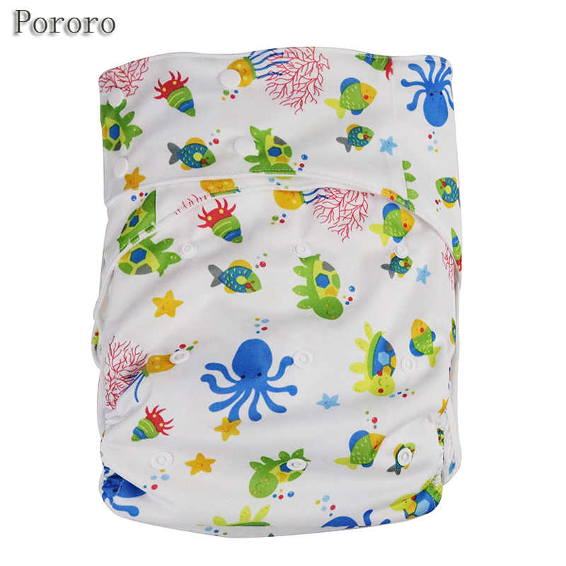 3PCS/LOT Adjustable Size Reusable PUL Waterproof Cloth Adult Diaper in China Incontinence Pants with Microfiber Inserts W20D20