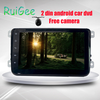 Two Din 7 Inch Android 4 4 Car DVD Player For VW Volkswagen POLO PASSAT
