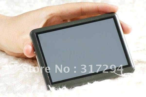 """New arrive 8GB 4.3"""" Touch MP3 MP4 MP5 AV-out FM Video Player T8 Christmas gift FREE SHIPPING"""