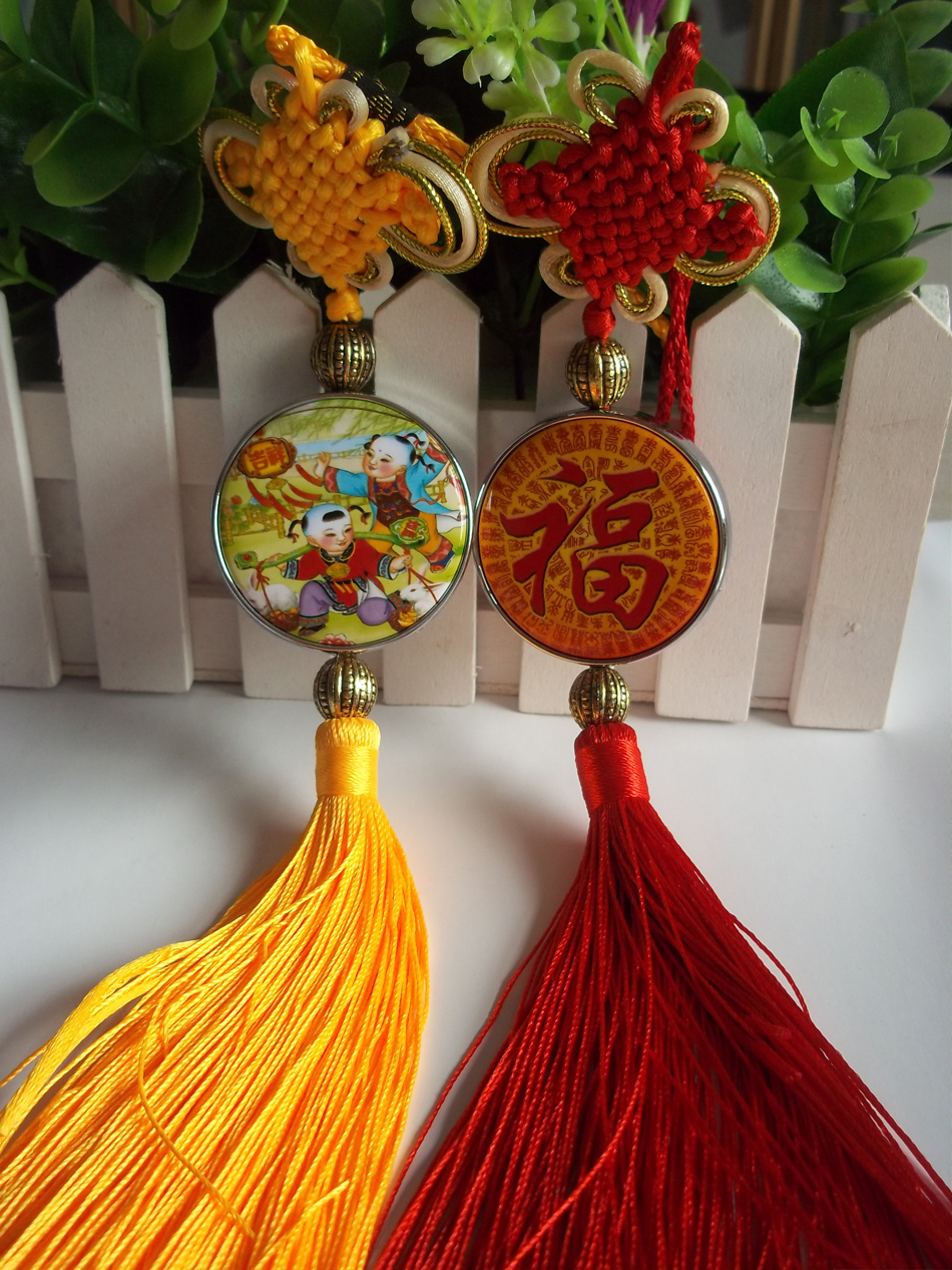 ФОТО 2016 New Tin Button material of chinese knot craft 58 mm round button components DIY Chinese knot 100set
